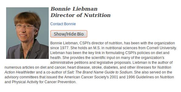 Bonnie Liebman