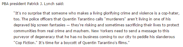 Patrick Lynch Quentin Tarantino