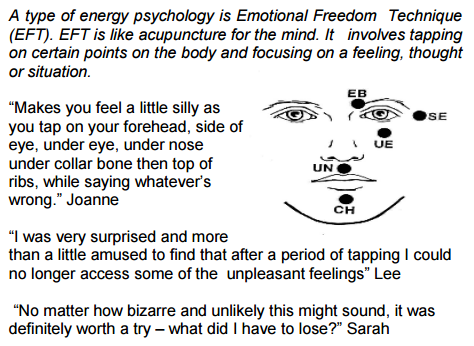 Emotional Freedom Technique NHS