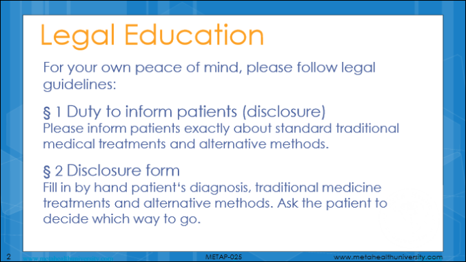Meta-Health Legal Education