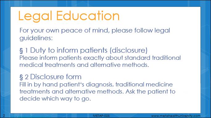 Meta-Health Legal Education