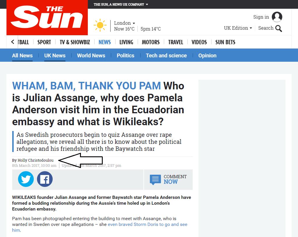 false byline shooting the messenger